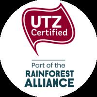 UTZ Certified - Part of the Rainforest Alliance